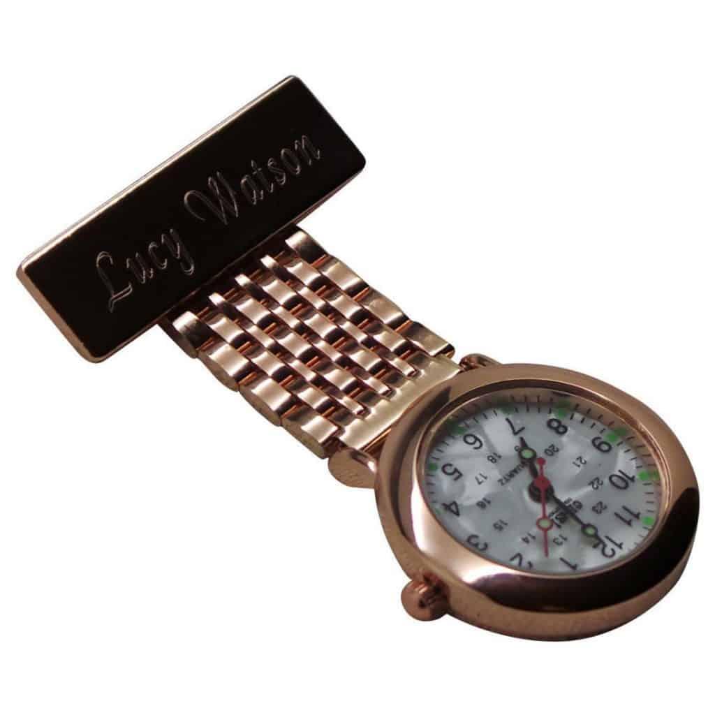 Personalized Nurse Fob Watch