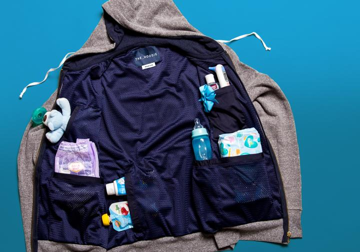 a multifunctional hoodie - a First Fathers Day Gift