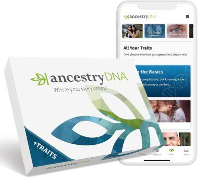 unique gifts for grandpa: ancestrydna testing kit