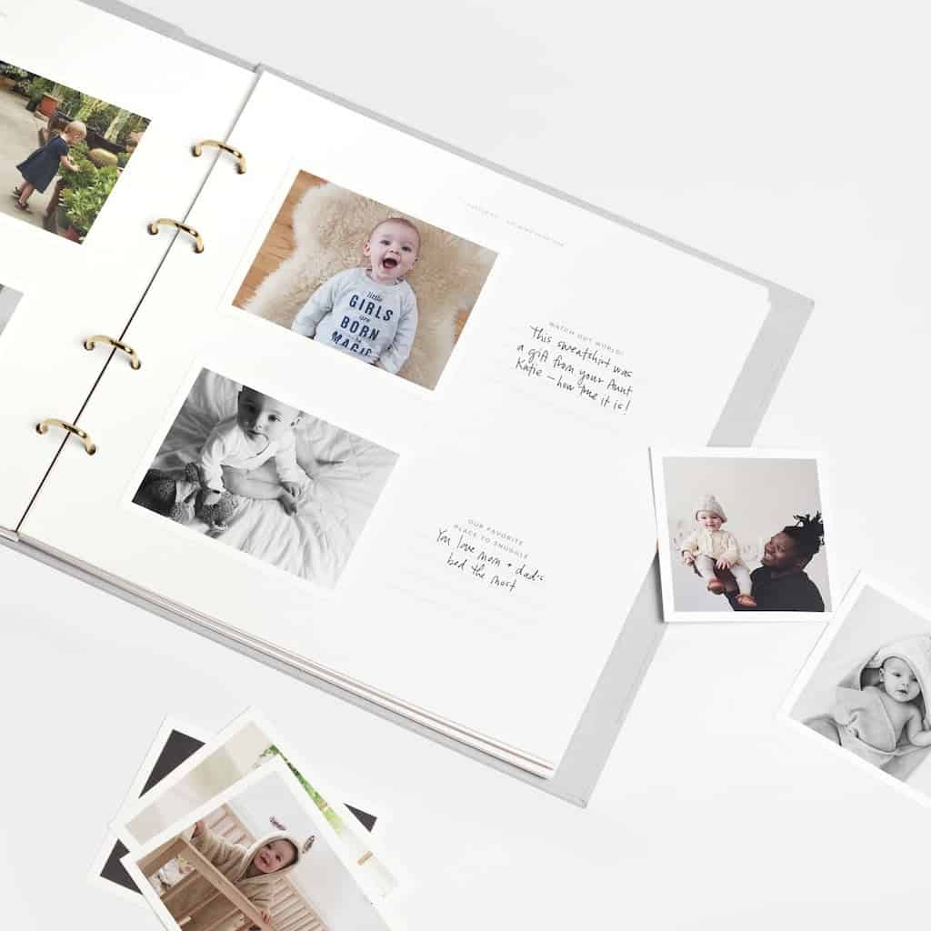 a baby photo book - Fathers Day Gift For First Time Dad