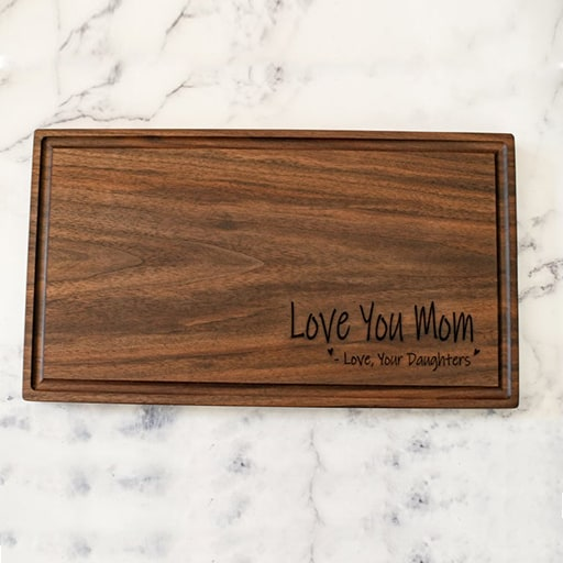 Cutting Board from Daughter:best mothers day presents