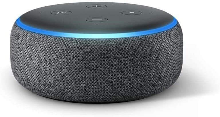 tech gift for grandpa: echo dot 3rd gen