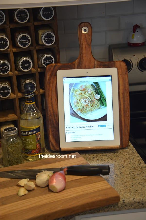 homemade gifts for aunt - ipad holder