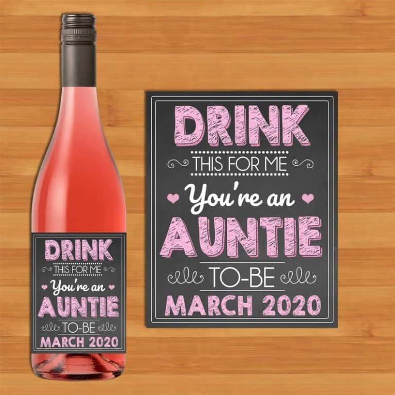favorite aunt gifts - Label Pregnancy