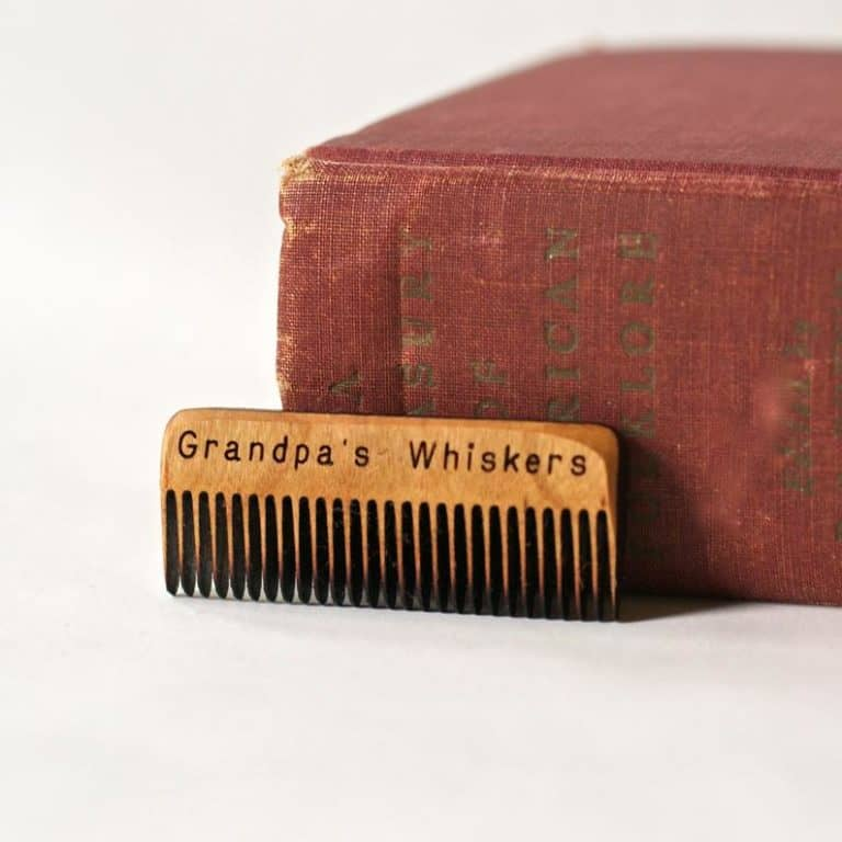beard comb - gifts for papa