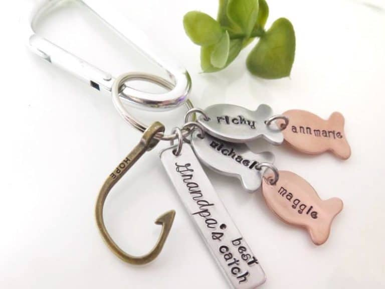 gifts for grandpa - keychain