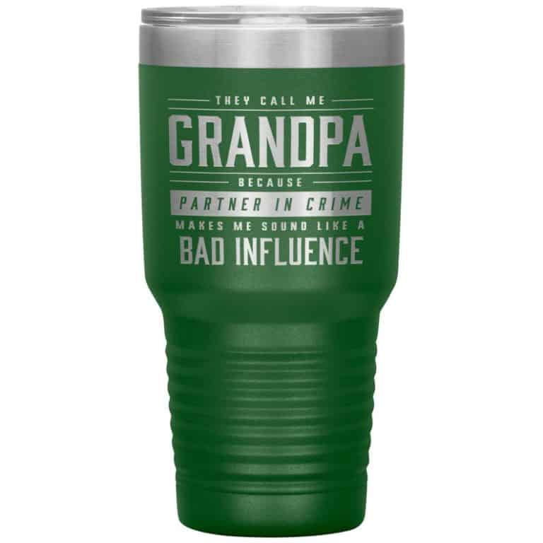 fathers day gifts for grandpa - tumbler