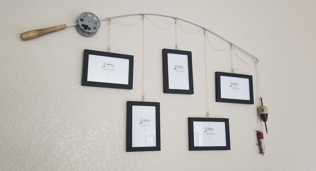 Fishing Pole Picture Frame - Man Cave Gifts