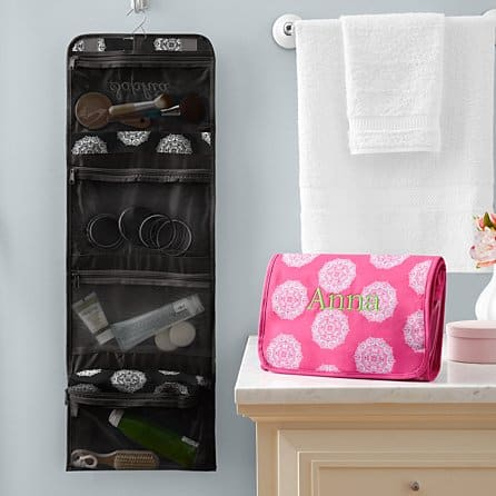 college student christmas list:Hang It Up Cosmetic Bag