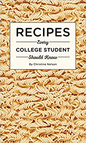 things to buy for college freshmen:Recipes Every College Student
