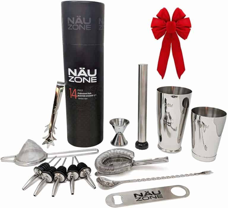 housewarming gifts ideas for men: professional bartender kit