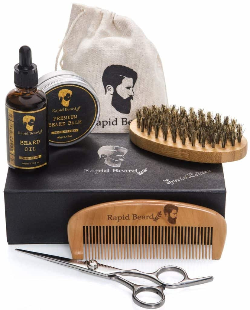 gift idea for men: bear grooming and trimming kit