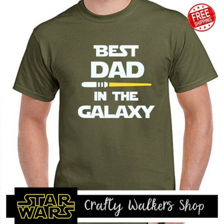 best dad in the galaxy - star wars gifts for men