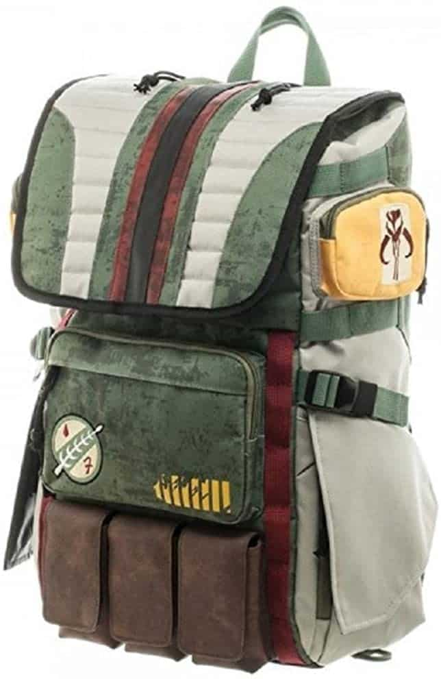 star wars stuff: boba fett backpack