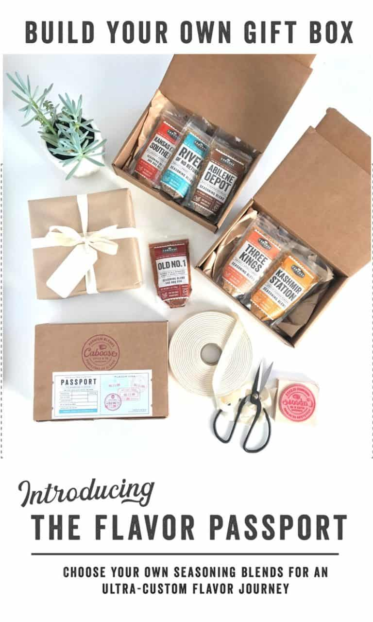 bbq gift ideas: build your own grill spice gift box