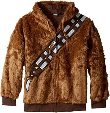 gifts for man who loves star wars: chewbacca hoodie