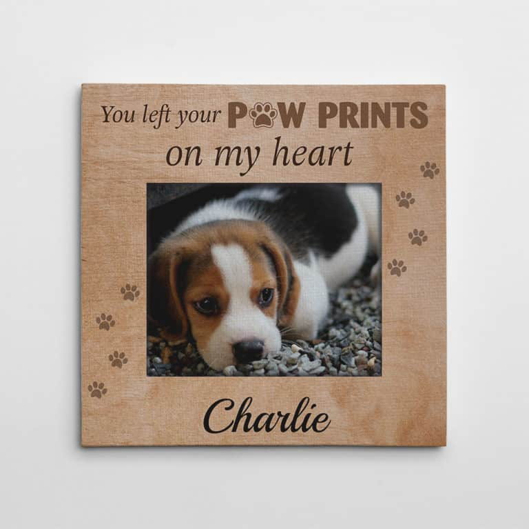 heartwarming gifts for dog moms: custom photo canvas print