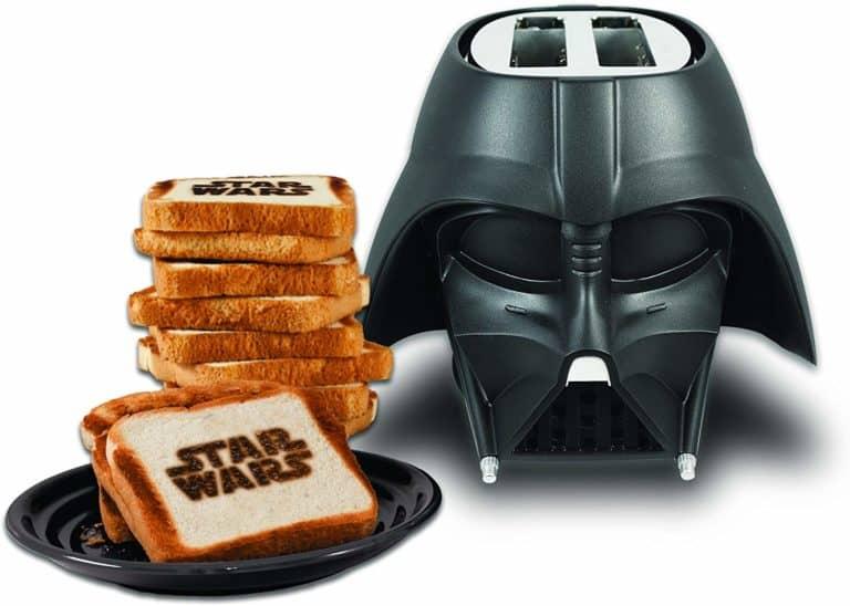 darth vader toaster - unique star war gifts