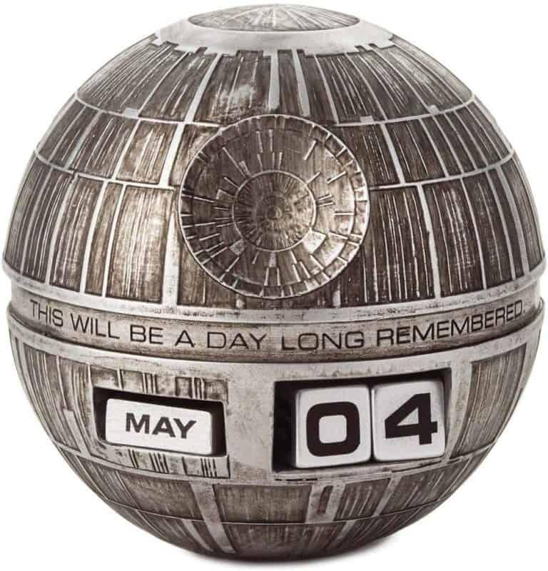 unique star wars gift: death star perpetual calendar