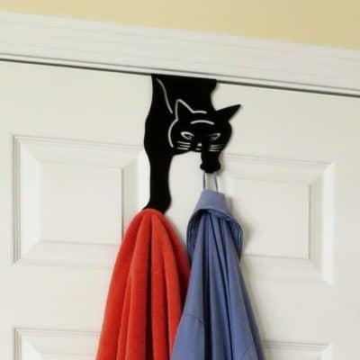 cat lady gifts - kitty hangers hooks