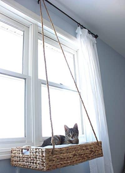 cat lovers catalog - diy cat perch