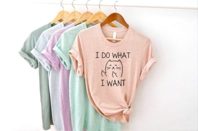 novelty cat gifts - personalized tshirt