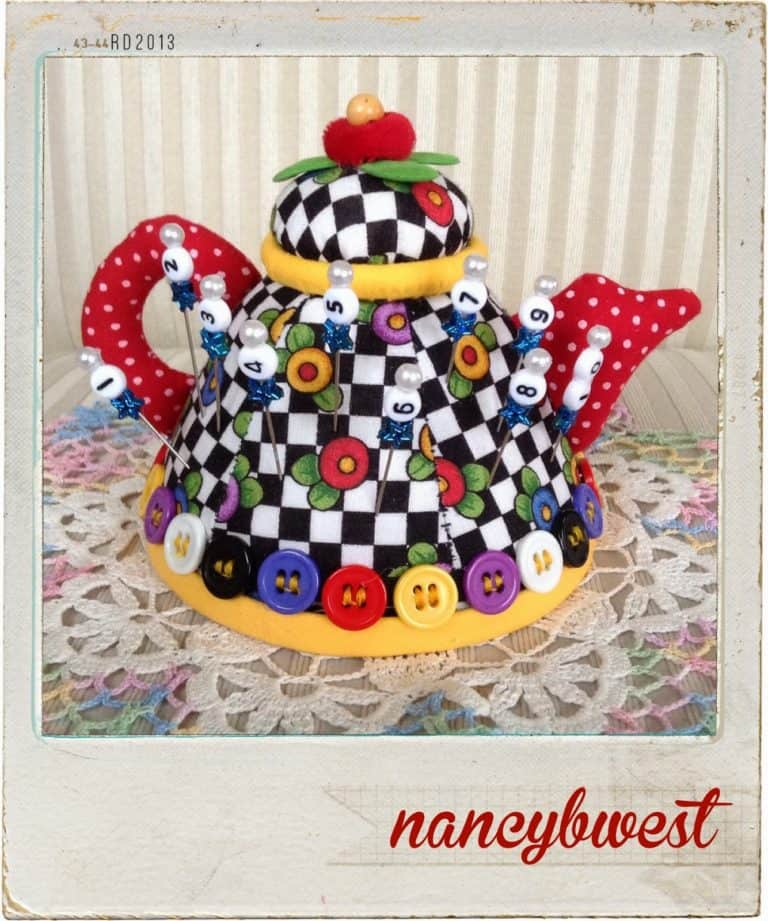 nifty quilt row markers - gifts for quilters
