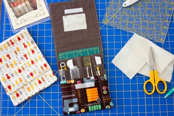 quilter gift - travel sewing case