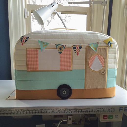 quilters gifts ideas - vintage sewing machine cover