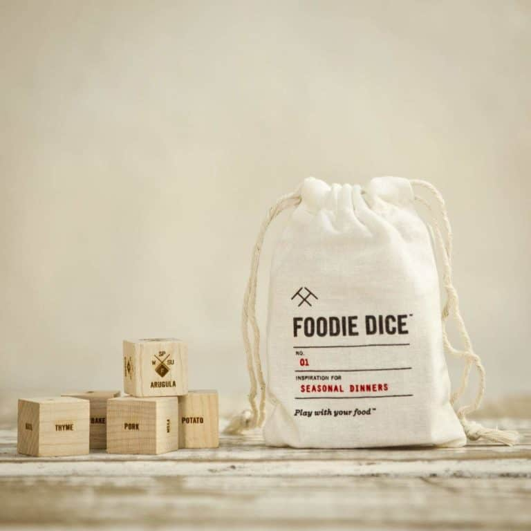 foodie dice - gifts for sister