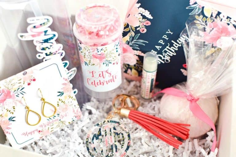 birthday gift for sister - birthday gift basket