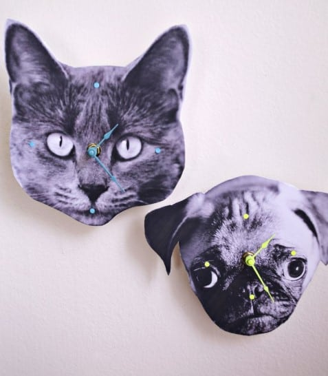 gifts for sister - photo wall clock