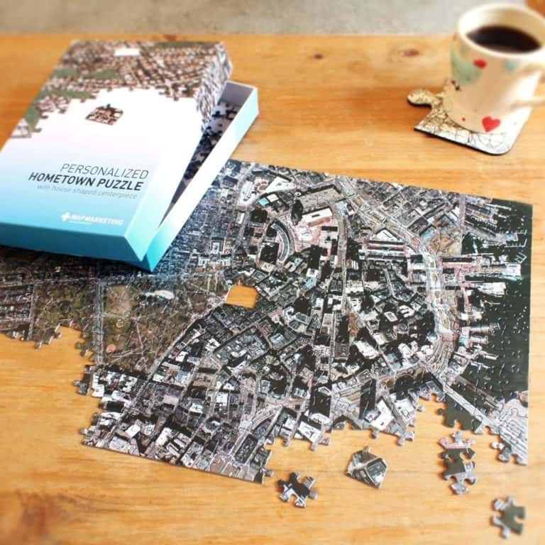 gifts for sister - personalized puzzle