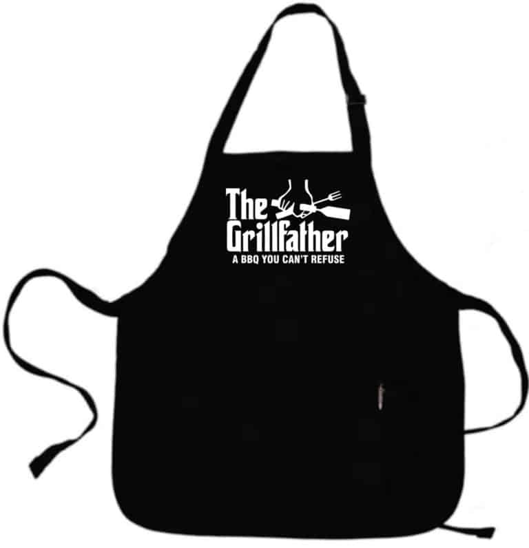 gifts for grillers: the grillfather apron