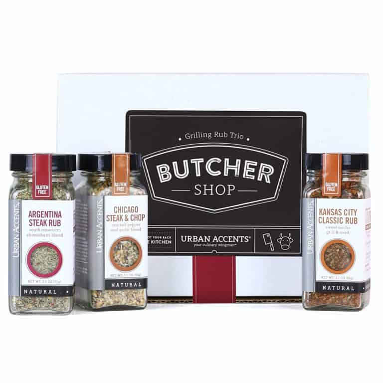 housewarming gifts for men who loves to grill: grilling spice rub gift set