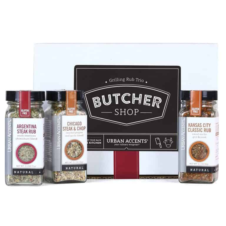 grilling gifts: gourmet grilling spice rub gift set