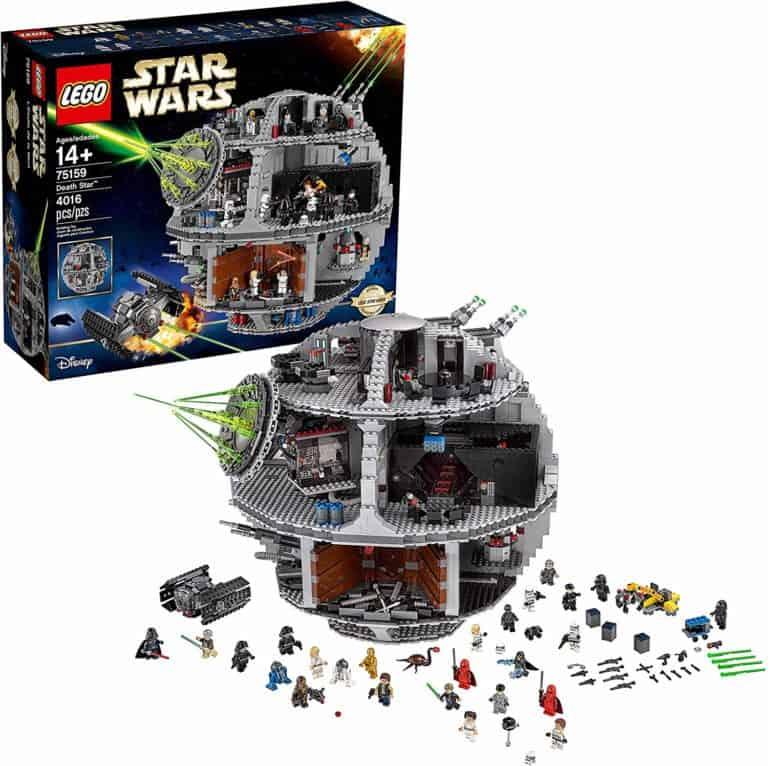 cool star wars toys: lego death star