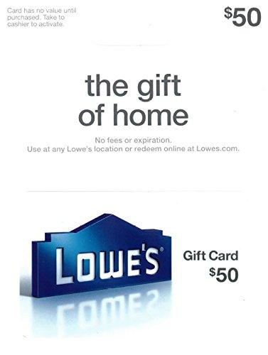 useful housewarming gift idea for guys: lowe's gift card