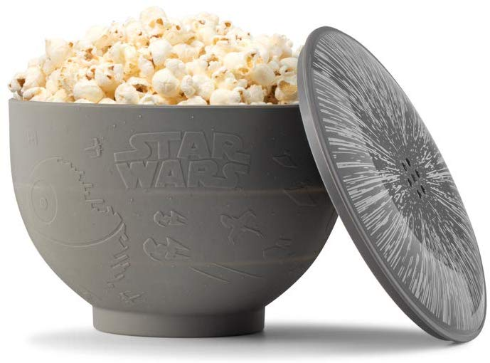 unique star wars gifts: star wars silicone popcorn maker