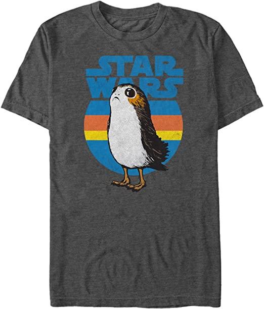 star wars merchandise: porg graphic tee