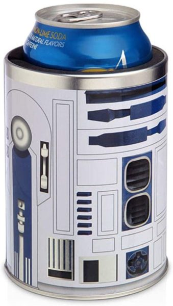 cool star wars gift: r2-d2 metal can cooler