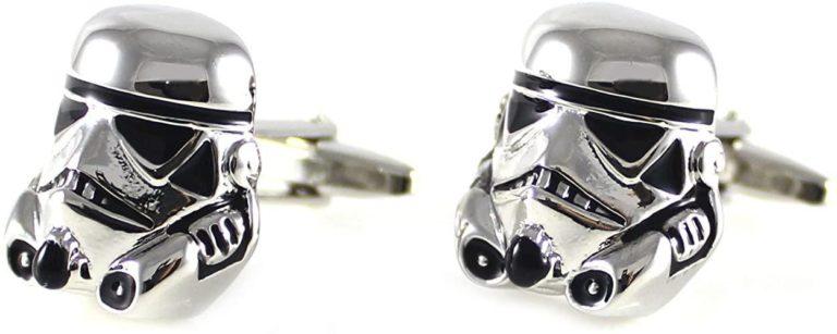 geek gifts for him: star wars cufflinks