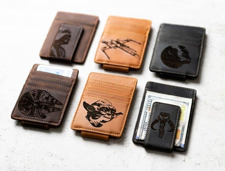 gifts for men who love star wars: star wars inspired money clip