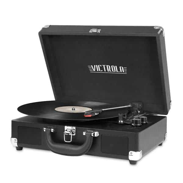 Bluetooth Portable Suitcase Record Player
