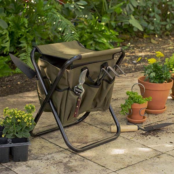 gifts for fathers day: Gardener's Tool Seat