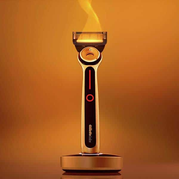 cool stuff for father's day: Heated Razor