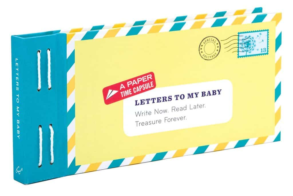 new mother mothers day gifts: letters to my baby
