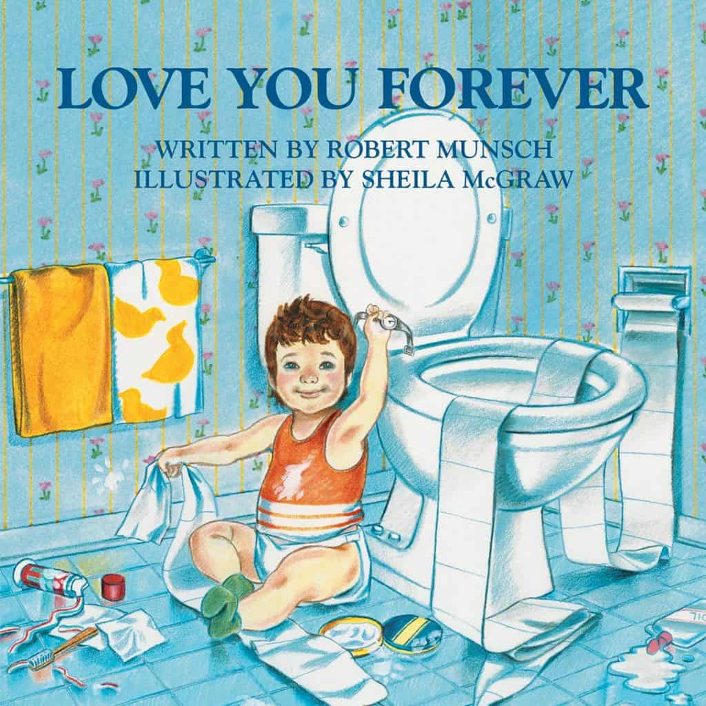 mothers day gifts from child: love you forever book
