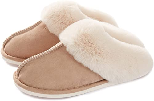 gift for mom on mothers day: memory foam slippers