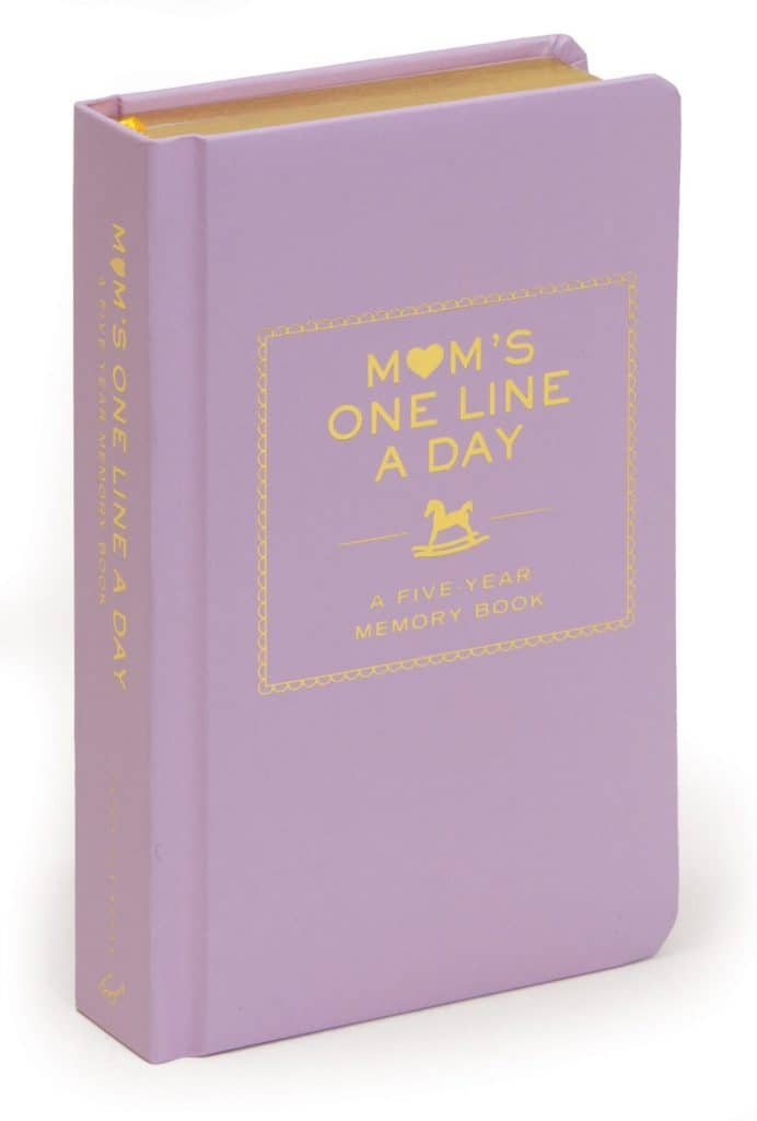 best first mother's day gifts: mom's one line a day book